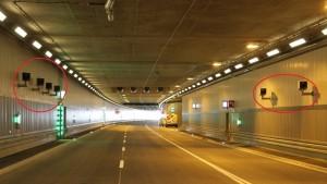 Blitzer Tunnel Deutschlands Blitzmeile