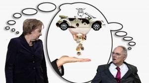 Merkel und Schäuble wollen Autofahrer melken_800x450