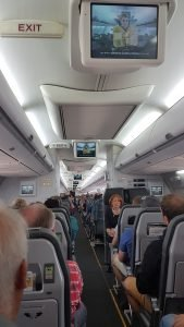 Flugzeuggang