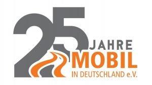 Logo 25 Jahre Mobil in Deutschland e.V.