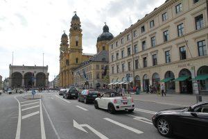 Die geplante Trasse der Fahrradautobahn in München.