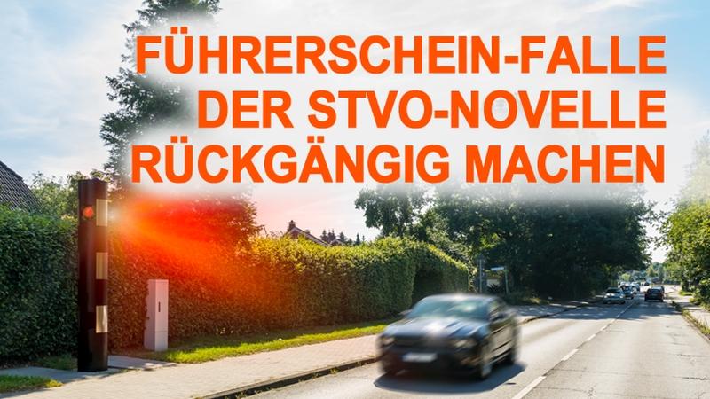 Führerschein Falle