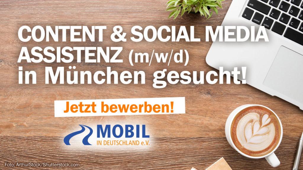 Content und Social Media Assistenz München